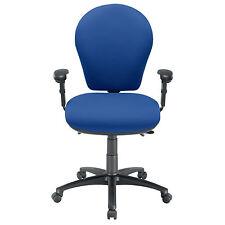 Energi 24 Posture Task Office Operators Chair Blue