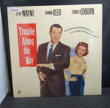 Laserdisc Laser Videodisc - John Wayne - Trouble Along The Way