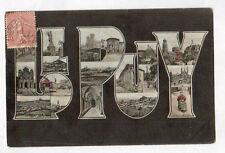 PUY-EN-VELAY (43) Souvenir de ,,,, VILLE & DENTELLIERE en 1906