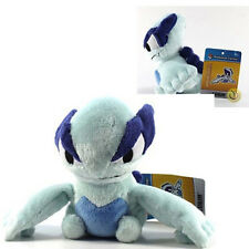 "Pokemon LUGIA 6"" Soft Plush Flying BANPRESTO Doll B&W Black & White Dual TOY Nwt"