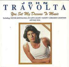 (CD) John Travolta – You Set My Dreams To Music - Sandy, Greased Lightnin', u.a.