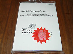 Windows Small Busines Server 2003 Premium SBS deutsch 5-CAL komplett neu