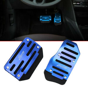 Universal Automatic Car Gas Brake Foot Pedal Pad Cover Accelerator Non-Slip Blue
