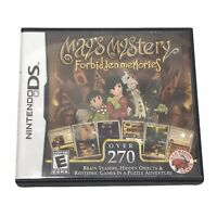 May's Mystery: Forbidden Memories (Nintendo DS, 2011) - Complete - Tested