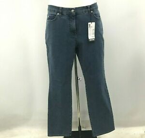 New Gerry Weber Jeans Size UK 8 Romy Straight Fit Style Blue Denim Casual 230261