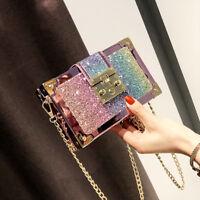 Women Girl Fashion Leather Crossbody Shoulder Bag Handbag Tote Purse Satchel
