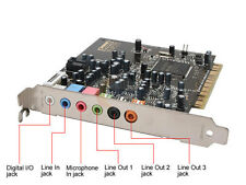 CREATIVE SOUND BLASTER HD AUDIGY 4 7.1 SOUND CARD SB0660 5188-4455 5188-2929 USA