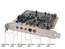 Creative Sound Blaster Audigy HD 4 7.1 Soundkarte sb0660 5188-4455 5188-2929 USA