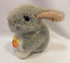 "Steiff ""Snuffy Gray Rabbit"""