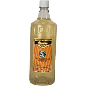 Starbucks Cinnamon Dolce Sugar Free Syrup 1 Liter 33.8oz- NEW! Discontinued