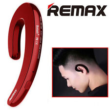 Remax RB-T20 Bluetooth Earpiece for iPhone Smartphone - Red