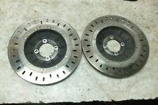 91 BMW K75 K 75 RT K75RT front brake rotors disks