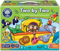 Orchard Toys TWO BY TWO Educational Game Puzzle BNIP