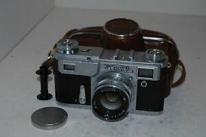 Kiev-4a Vintage 1966 Soviet Rangefinder Camera, Case. Serviced. 6610026. UK Sale