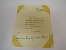 More details for clementine churchill original signed letter. wife of sir. winston