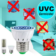 30W LED UVC Light Bulb UV Germicidal Lamp Home Sterilizer E27 Corn Shape Light