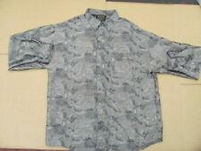 """Hersi Valdise XL Shirt light green music swirl design  """"High Roller Shirt"""""""