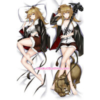 Anime Arknights Texas Dakimakura Hugging Body Pillow Case Cover 50*150cm