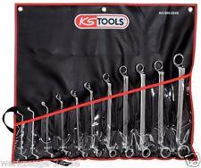 KS Tools Ultimateplus doppio-anello chiave set, a gomito 8 pz. pollici 920.0280