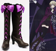 Black Butler Alois Trancy Cosplay Schuhe Kostüm Shoes Stiefel Boots Costume Neu
