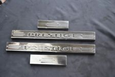 Einstiegsleisten Dacia Duster  Logo Prestige  aus Edelstahl