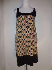 New York & Co. Size Small Sleeveless Multi-Color ,Side Seam Pockets Shift Dress