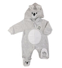 Baby Girl boys clothes all in one Koala suit  babygrow 0-3 m 3-6 m 6-9months