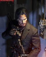 """MAXNUT 1/6 M002 Keanu Reeves Head Sculpt Fit 12"""" Male  Body"""