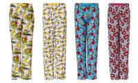 Mens Character Pyjama Lounge Pants in Choice of Style and Size