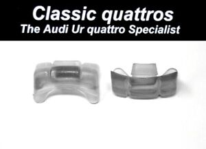 2  SEAT CENTRE GUIDE PIECES AUDI UR QUATTRO TURBO COUPE-COUPE-200-100-90-80