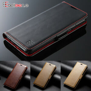 For Samsung Galaxy S6 S7 S8 S9 S10+ Leather Wallet Luxury Flip Case Magnet Cover