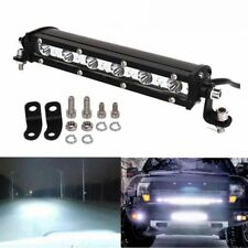 "1Pcs  7"" 18W LED spot Light Bar Slim Single Row Offroad Fog Lamp SUV Truck Jeep"
