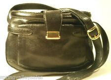 Designer Marco Ricci Venice Italy Black Leather PURSE Shoulder Xbody Hand Bag