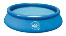 Quick Up Pool 305 x 76 cm Swing Swimmingpool Schwimmbecken Schwimmbad blau NEU