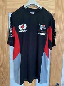 Ducati Team T Shirt, Size XL, Superbikes, New