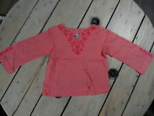 Tunique manches longues rose brodée fleurs et sequins VINYL FRAISE Taille 4 ans
