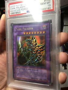 Yu-Gi-Oh! 2003 Dark Paladin Magician's Force MFC-105 PSA 10 GEM MINT