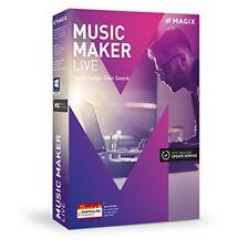 MAGIX Music Maker live 2017 Download Win deutsch (647039)
