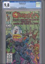 Thundercats #5 CGC 9.8 1986 Star- Marvel Comics David Micheline Story