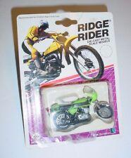 Vintage ZEE Toy 1986 Ridge Rider Kawasaki Mach III Motorcycle Diecast MIP