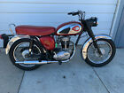 1965 BSA C15 SS80  1965 BSA C15 Sport Star 80 Motorcycle  Red SS80  1 Family Owned Bike