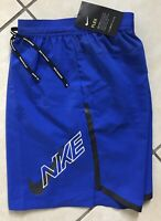 "NIKE MENS  AIR FLASH FLEX STRIDE RUNNING SHORTS 7"" BV5078 405 Blue L Brief-Lined"