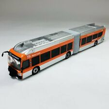 Iconic Replicas 1/87 Ho Nfi Xn60 Xcelsior Articulated Bus La Metro 87-0163