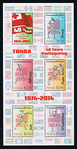 Tonga - Stamp Issue Honoring the Commonwealth Sports Games