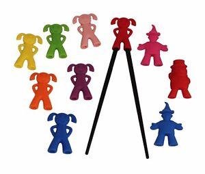 Essstäbchenhalter f. Kinder Essstäbchen zum Lernen Lernstäbchen Stäbchen Aufsatz