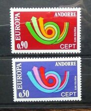 More details for andorra french 1973 europa set mnh