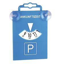Parkscheibe 4,48€/Stk. mit Saugnapf 2 Stück 84511 Parkuhr Blau Kunststoff Uhr