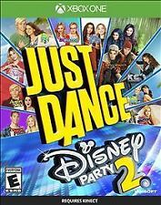 JUST DANCE DISNEY PARTY 2 * XBOX ONE * BRAND NEW FACTORY SEALED!