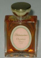 Vintage Christian Dior Diorissimo Perfume Bottle 1/4 OZ Sealed/Full