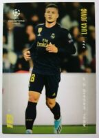 Champions League Youth On The Rise Luka Jovic Real Madrid Topps Panini